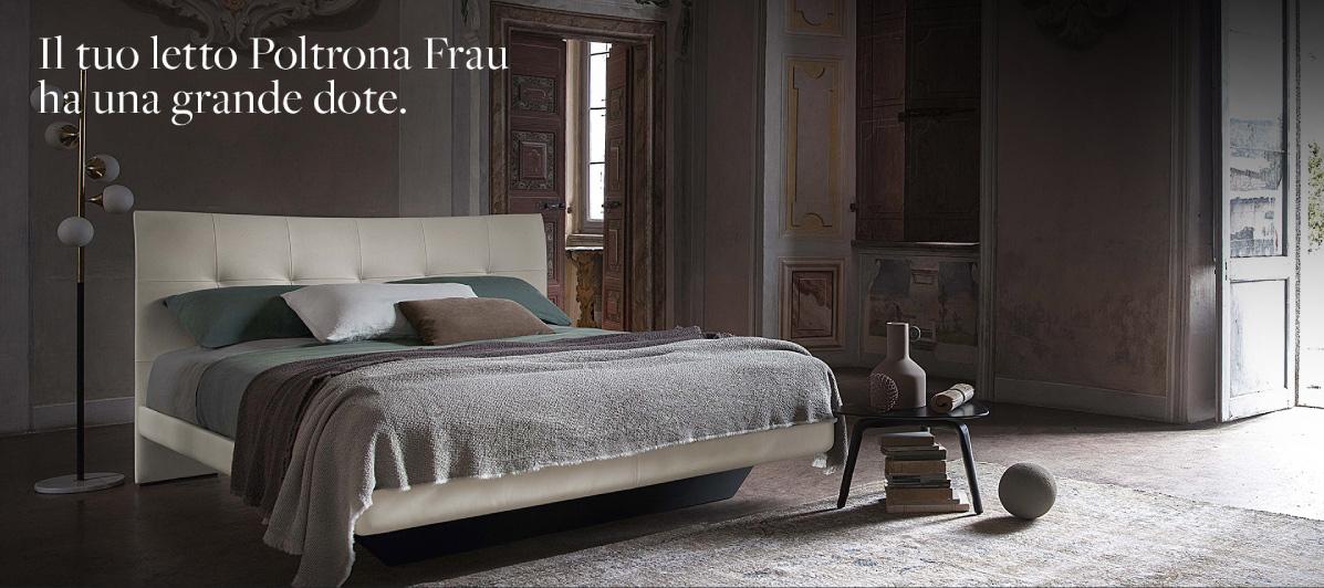 Letto Aurora Due:Poltrona Frau migliora la tua qualità della vita.
